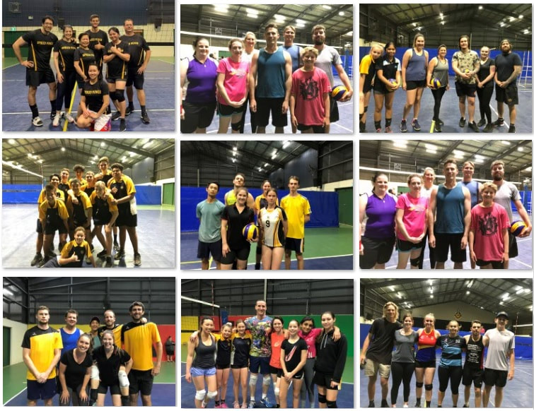 Gladstone Social Volleyball-ers