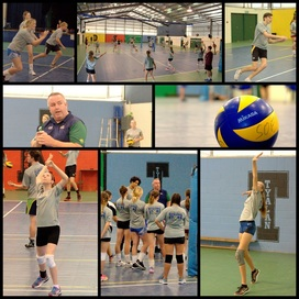 Volleyball Australia Rising Stars Camp Collage